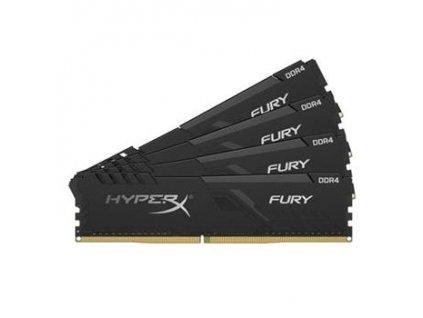 KINGSTON 64GB 2400MHz DDR4 CL15 DIMM (Kit of 4) HyperX FURY Black Refresh