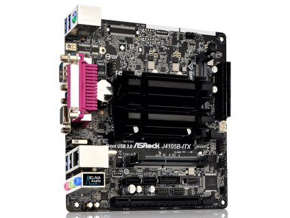 ASRock J4105B-ITX / Gemini Lake / Celeron J4105/ 2x DDR4 SO-DIMM / D-Sub / HDMI / COM / Mini-ITX