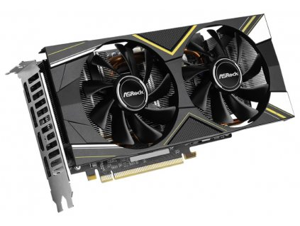 ASROCK Radeon RX 5600 XT Challenger D 6G OC / 6GB GDDR6 / PCI-E