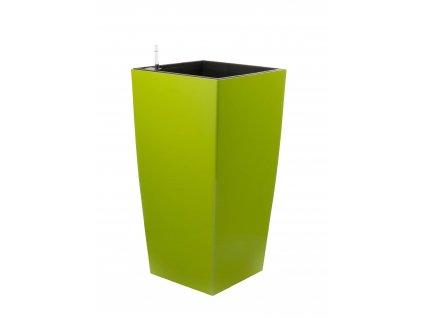 G21 Samozavlažovací kvetináč Linea zelený 76 cm