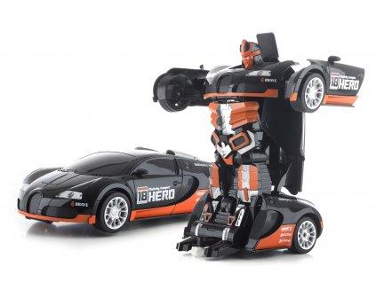 G21 Hračka R/C robot Black Hero