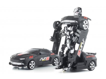 G21 Hračka R/C robot Black Metal