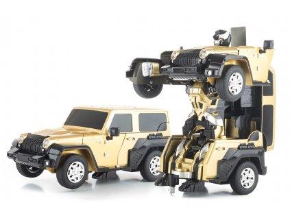 G21 Hračka R/C robot Gold Alien