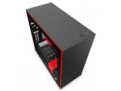 NZXT H710i čierno-červená