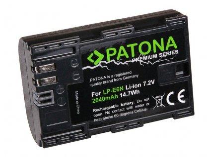 PATONA baterie pro foto Canon LP-E6N 2040mAh Li-Ion Premium - neoriginálna