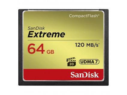 SanDisk Extreme CompactFlash 64GB