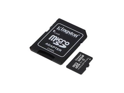 KINGSTON microSDHC 32GB UHS-I + SD Adapter