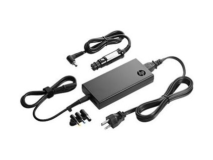 Hewlett Packard 90W Slim adapter s USB + Car adapter
