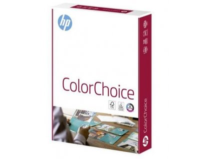 Hewlett Packard COLOR CHOICE - A4, 90g/m2, 1x500 list