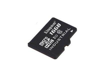 KINGSTON microSDHC 16GB UHS-I Class 10 Industrial Temp Card