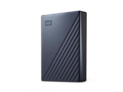 """Western Digital My Passport ULTRA 4TB 2.5"""" USB3.0 Blue USB-C"""