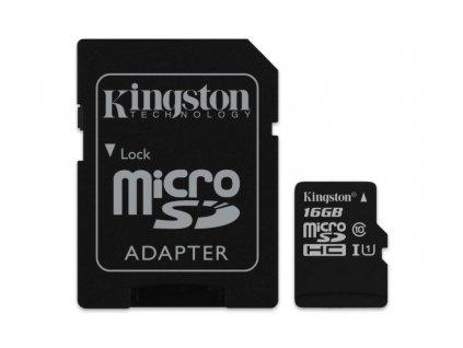 Kingston 16GB microSDHC UHS-I Industrial Temp + SD adapter