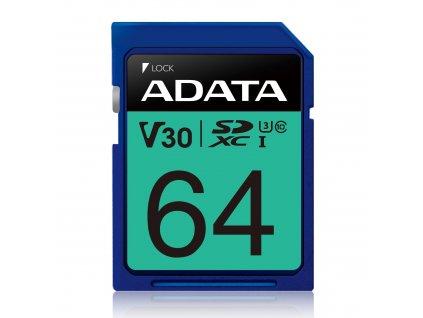ADATA SDXC 512GB UHS-I U3 V30S 95/60MB/s