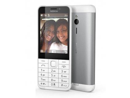 Nokia 230 Dual SIM white/silver