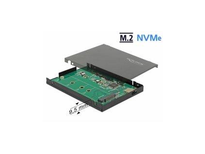 Delock Externí skříň M.2 NVMe PCIe SSD s USB 3.1 Gen 2 USB Type-C™