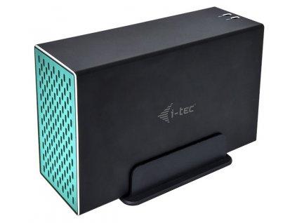 "i-tec externí box pro HDD MYSAFE/ 2x 3,5"" SATA/ USB 3.0/USB 3.1(C)/ šedý"