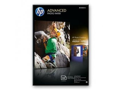 Hewlett Packard Q8692A Advanced Photo Paper, Glossy, 10 x 15cm, bez okraj, 100ks