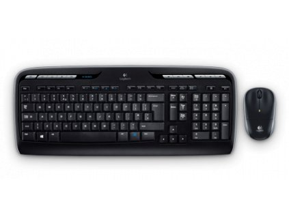 Logitech Wireless Desktop MK330, US
