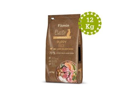 Fitmin dog Rice Puppy Lamb&Salmon - 12kg