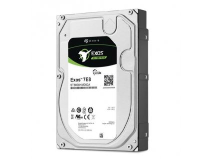 "Seagate Exos 7E8 HDD, 6TB, 3.5"", SATAIII, 256MB cache, 7.200RPM"