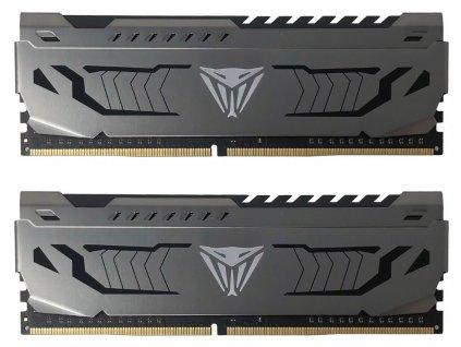 PATRIOT Viper 4 Steel Series 16GB DDR4 4133 MHz / DIMM / CL19 / Heat shield / KIT 2x 8GB