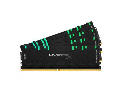 KINGSTON HyperX Predator RGB 64GB DDR4 3200MHz / DIMM / CL16 KIT 4x 16GB