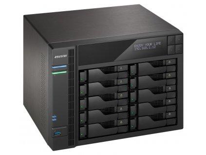 "Asustor NAS AS7010T / 10x 2,5""/3,5"" SATA III/ Intel i3-4330 3,5GHz/ 2 GB/ 2x GbE/ 3x USB 3.0/ 2x USB 2.0/ eSATA"