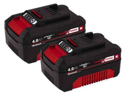 Batéria Einhell Power X-Change Twinpack 18V, 2 x 4Ah