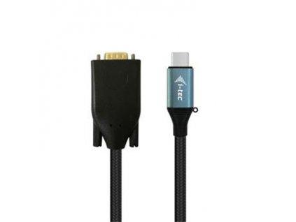 i-tec USB 3.1 Type C kabelový adaptér 1080p/ 60 Hz 150cm/ 1x D-SUB (VGA)
