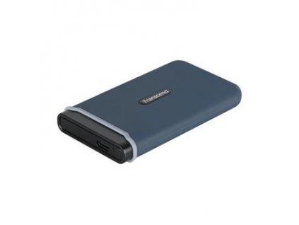 transcend esd350c 960gb usb 3 1 gen2 usb c externi anti shock ssd disk 3d tlc 1050mb r 950mb w modry i389386