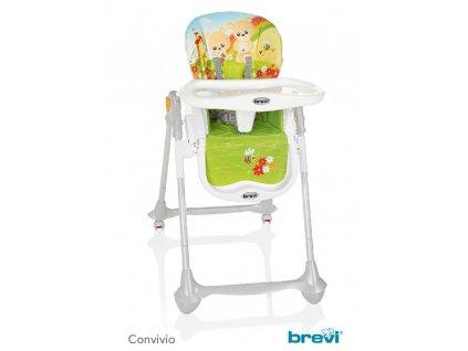BREVI CONVIVIO Jedálenská stolička, 596, Dúha