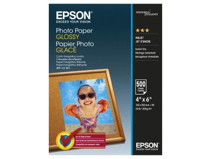 EPSON Photo Paper Glossy 10x15cm 500 ks