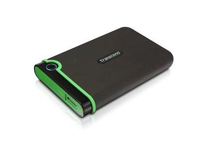 TRANSCEND StoreJet SLIM 500GB šedo/zelený