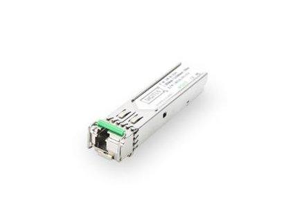 Digitus 1.25 Gbps BiDi WDM SFP Modul, do 20km, s podporou DDM, Singlemode, LC Simplex konektor 1000Base-LX, Tx1550nm/Rx13