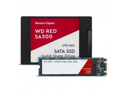 """WESTERN DIGITAL RED SSD 3D NAND WDS400T1R0A 4TB SATA/600, (R:560, W:530MB/s), 2.5"""""""