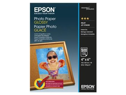 EPSON Photo Paper Glossy 10x15cm 500 ks