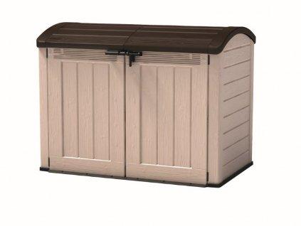 Záhradný box Keter STORE-IT-OUT ULTRA CRT béžový / hnedý