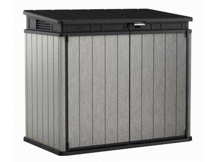 Záhradný box Keter Elite Store 1150 L šedočierny