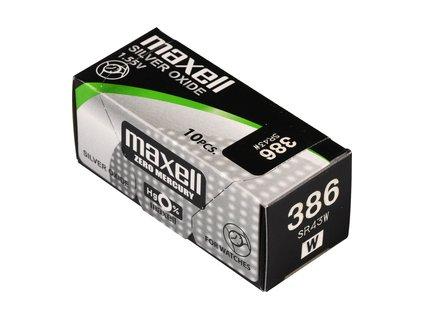 MAXELL 386/SR43W/V386 1BP Ag