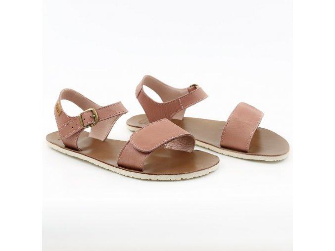 sandale dama barefoot funky vibe dusty pink 21712 4