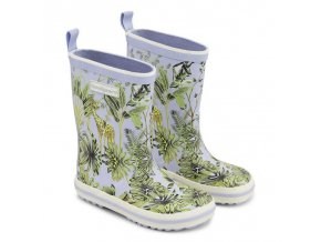 Bundgaard holinky - Classic Rubber boot Trop. Forest
