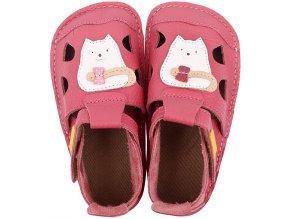 sandale barefoot din piele nido kitty 18124 4