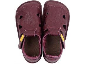sandale barefoot din piele nido figb 21250 4