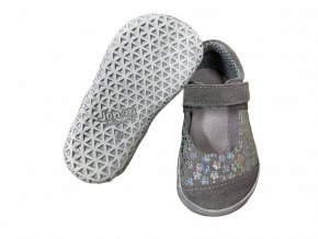 Jonap barefoot baleríny B14 šedé SLIM 2021