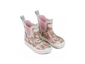bundgaard short rubber boot rose flamingo