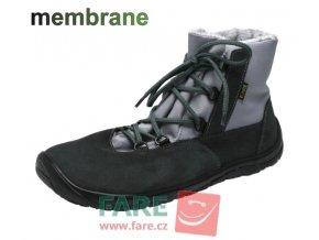FARE BARE ZIMNÍ NEPROMOKAVÉ barefoot BOTY B5643261