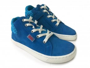 8738 filii barefoot skater one laces velours turquoise m(2)