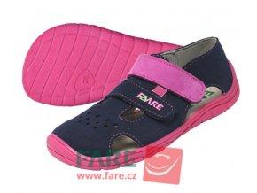 FARE BARE letní modro-růžové sandále 5262251