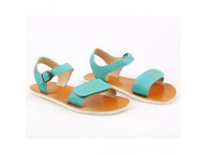 funky vibe barefoot women s sandals golden turquoise 16029 2