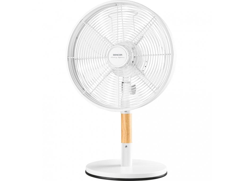 SFE 3080WH stolní ventilátor SENCOR